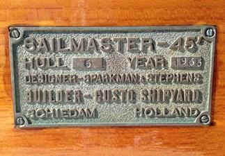 MIDNIGHT 26  Sailmaster Plaque