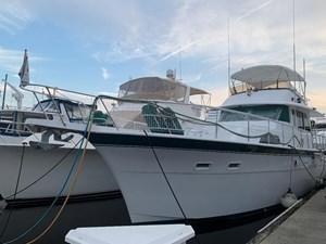 Mad Hat 0 53 Hatteras 53 Yacht Fisherman