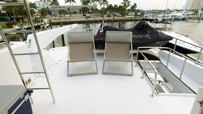 LIFE'S A JOURNEY 22 Fly Bridge Boat Deck