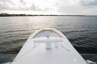 no name 37 Bow from Flybridge