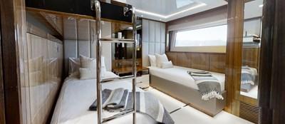 ALADDIN 75 Sunseeker-131-Aladdin-Starboard-Twin-Cabin