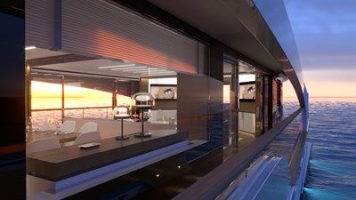 Legacy Super Yachts 5 Legacy Super Yachts 2022 CUSTOM  Motor Yacht Yacht MLS #273481 5