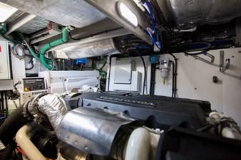 Drift 61 Engine Room