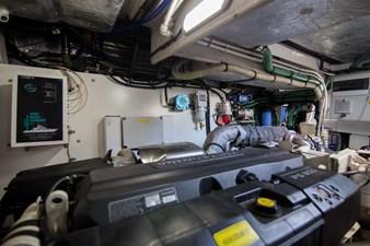 Drift 62 Engine Room