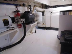 Low Profile 23 Engine Room
