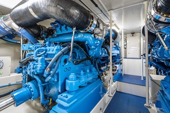 Whiskey Kilo  27 Engine Room