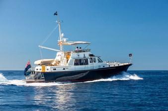 HUSH 0 Huisman 65 Custom Twin Screw Motor Yacht
