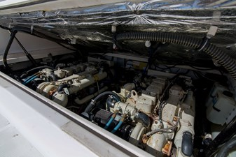 Playing Hooky III 41 Engine Compartment