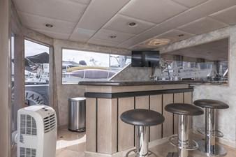 ANDIAMO 30 Aft Lounge