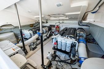 She Salty II 45 Engine Room