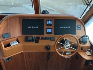 Rowe Boat 7 Helm Electronics - (2) Large Garmin Touch Screens