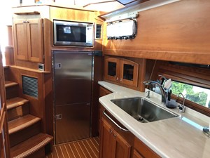 Rowe Boat 9 Galley - (2) Large Garmin Touch Screens