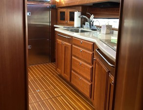 Rowe Boat 12 Galley - Lots of Storage Including Drawer Storage and Cabinets