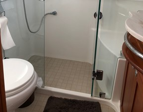 Rowe Boat 19 Glass Shower Stall with Seat