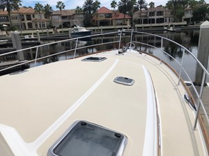 Rowe Boat 31 Foredeck