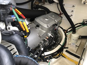 Rowe Boat 37 Engine Room