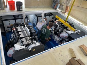 New Build 17 Engine Room