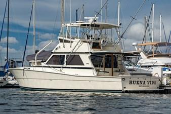 BUENA VIDA 2 BUENA VIDA 1987 VIKING Convertible Sport Fisherman Yacht MLS #273796 2