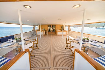 Wind of Fortune (Full Refit 2020) 11 Aft Deck 2