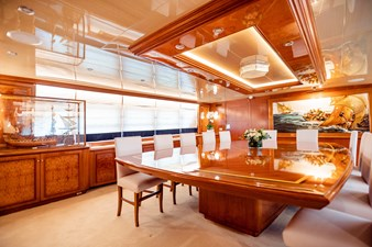 Wind of Fortune (Full Refit 2020) 43 Formal Dining
