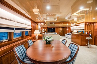 Wind of Fortune (Full Refit 2020) 61 Salon Game Table and Bar