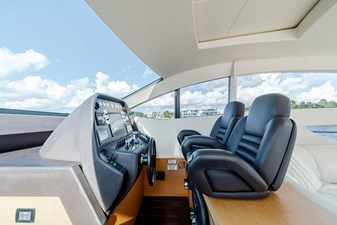 Aretecte 11 Helm Console Forward to Starboard