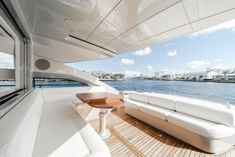 Aretecte 65 8 Person Life Raft Under Starboard Seating