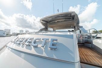 Aretecte 70 Starboard Side Aft Deck