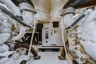 Aretecte 73 Engine Room