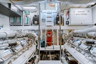 Aretecte 76 Engine Room