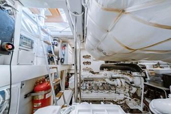 Aretecte 77 Engine Room