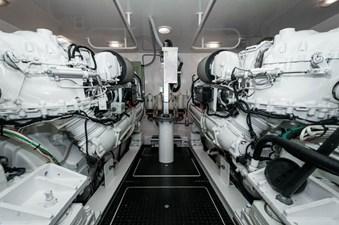 Team Supreme 65 2012 Viking 76 Convertible - Engine Room (2)