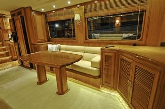 FLEMING 65 - NEW BUILD 8 Salon Starboard