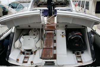 65' Princess V65 Hard Top 4 tender and jet ski garage