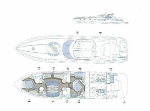 75' Sunseeker 75 Predator 7 75' Sunseeker 75 Predator 2000 SUNSEEKER Sunseeker 75 Predator Cruising Yacht Yacht MLS #68792 7