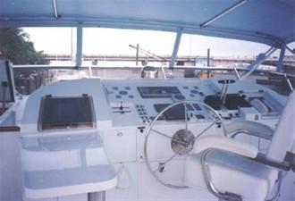 1986 86' Classic Burger Motor Yacht Flybridge