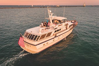 1986 86' Classic Burger Motor Yacht