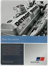 Detroit Diesel engines are fully supportable by MTU which offers all parts for 12V 71TI Engines that are in ENCORE V