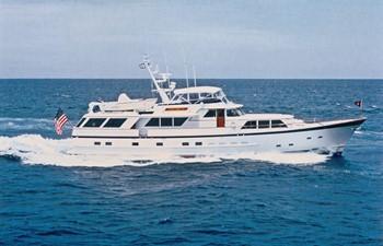 1986 86' Classic Burger Motor Yacht Profile