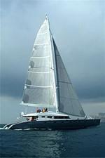 102' 2007 Blubay 102 11 Sailing Upwind