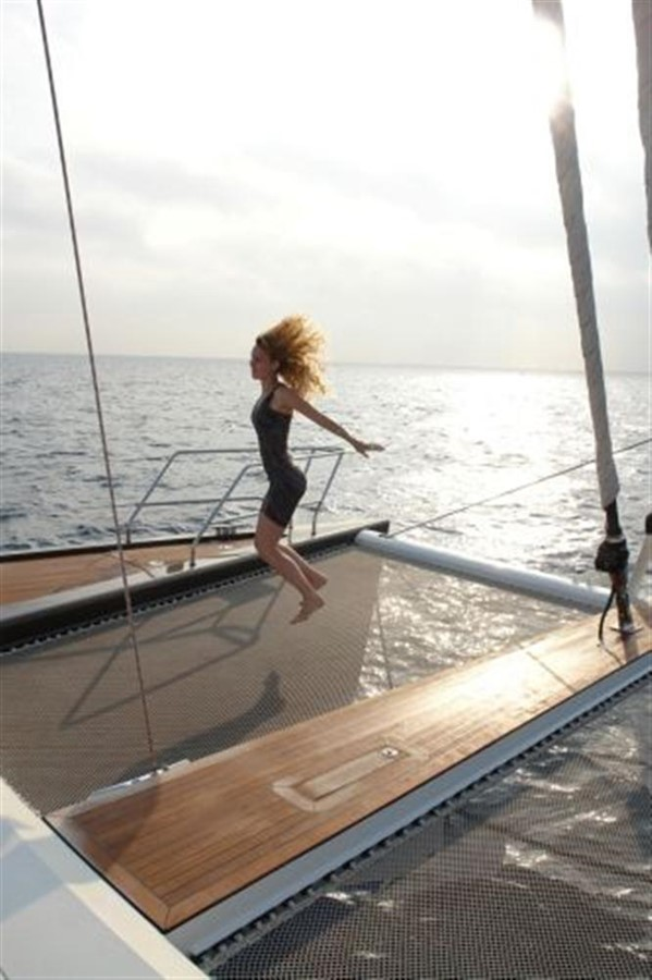 Trampoline and Foredeck