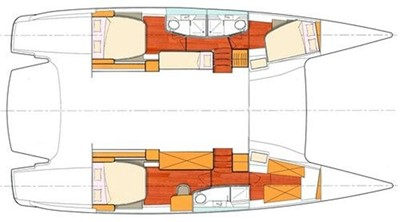 48' 2008 Fountaine Pajot Salina 48 13 Owner's Version