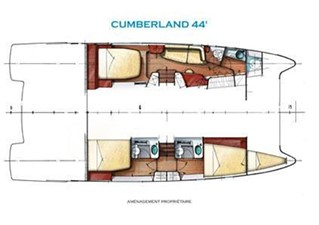 46' 2007 Fountaine Pajot Cumberland 11 Owner's Version