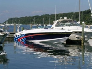 45' 2000 Donzi ZX 1 Bow View