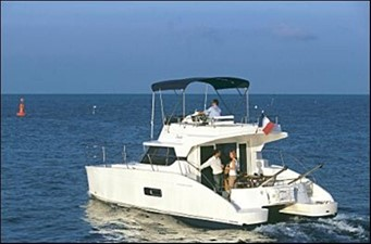 35' 2007 Fountaine Pajot HIGHLAND 0 3/4 Aft View