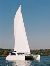 TomCat 9.7 under sail