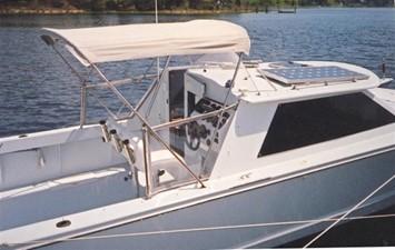 26' 2000 Hunt Express Weekender- Custom 1 Bimini