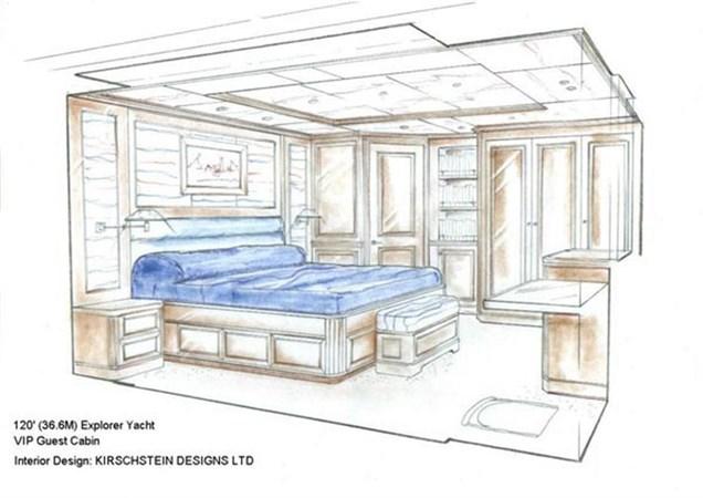 VIP Stateroom Rendering