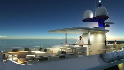 Inace Yachts 126' Aft House Explorer Yacht 1 Flybridge