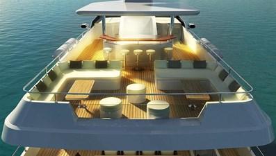Inace Yachts 126' Aft House Explorer Yacht 2 Flybridge